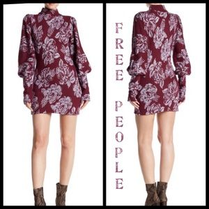 Free People Farrah Wool Blend Mini Dress Size M